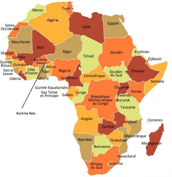 Bien-aimé Présentation du Burkina - Yennega.org CD13